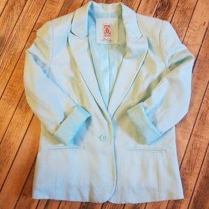 Decree mint green blazer